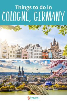 The Best Things To Do in Cologne Germany. Tips on what to do, where to eat and drink, where to stay, walking the streets of Cologne, places to see the amazing architecture, and much more. Don't travel to Cologne until you read this Cologne City Guide.  #Germany #travel #traveltips #Europe