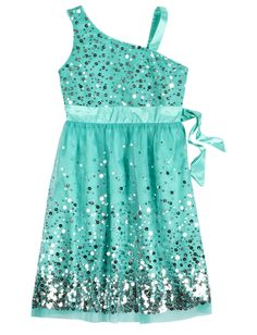 One Shoulder Sequin Party Dress Shop Justice Tween Fashion, Cute Fashion, Girl Fashion, Fashion Ideas, Little Girl Dresses, Girls Dresses, Pretty Outfits, Cute Outfits, Justice Clothing
