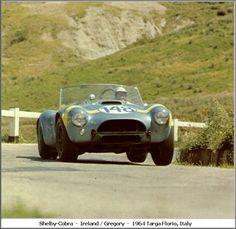 Targa Florio Ford AC Cobra 486 n.148 Ireland Gregory 1964