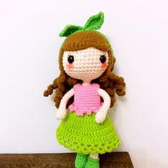 Blushy girl by Tifaily - FREE Amigurumi Pattern