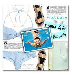 """Summer Date: The Beach"" by dolly-valkyrie ❤ liked on Polyvore featuring Zara, beach and summerdate"