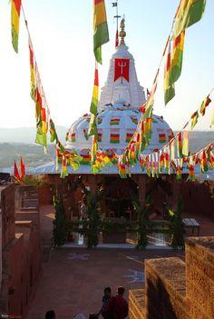 Chamunda Mataji Temple Jodhpur  Religious tourist attraction India