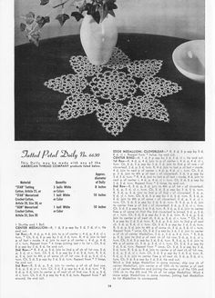 Crochet and Tatting Heirloom Edition, Star Book...