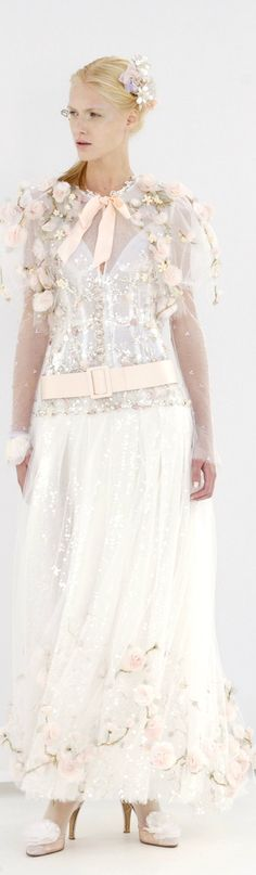 ● Chanel Couture ●. Boho chic wedding dresses BOHO GIRL