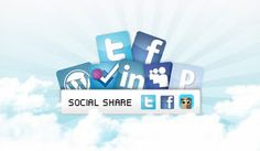 How to add Scrolling #Social Sharing Widget in #Blogger Blog Sidebar?