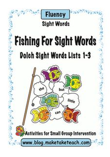 Classroom Freebies Too: Fishing For Sight Words