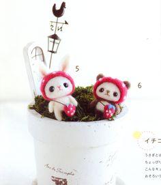 《Lovely Felt Wool Friend Doll》- Japanese craft book