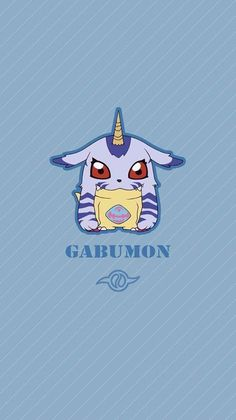 Gabumon chibi. Amizade. Digimon Adventure Tri.
