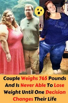 Couple Weighs 765 Pounds And Is Never Able To Lose Weight Until One Decision Changes Their Life Funny Pins, New Pins, Lovely Dresses, Weight Loss Goals, Riddles, Pet Birds, Lose Weight, June, Facts