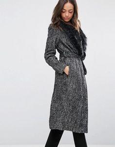 Robe Pull En Tricot Torsadé Avec Le Dos Profond V - Union Mode Gris CpeoNVCQn