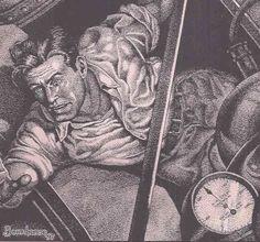 THE SECRET IN THE SKY, by Frank Hamilton Pulp Art, Pencil Art, Savage, Hamilton, Bronze, Hero, Sky, Books, Movies