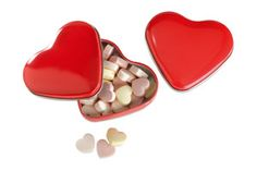 Caja corazón con caramelos LOVEMINT
