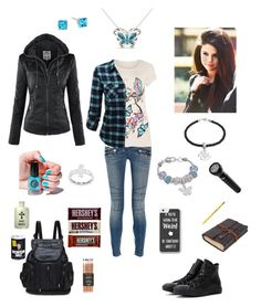 """Ella Winchester 18"" by hopesparksembers ❤ liked on Polyvore featuring Balmain, Insignia Collection, Believe In, WearAll, Cirque Colors, Converse and Dixon Ticonderoga"