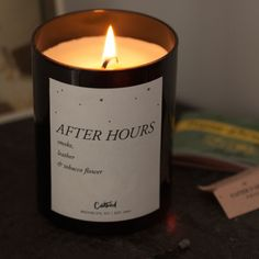 After Hours Candle