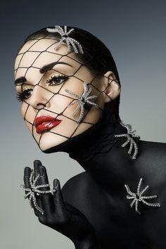 Model: Christie Gabriel   Graftobian 2011 catalog cover.   Shot by Kaizen-foto, Makeup by Chrystina Marye