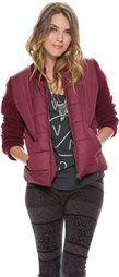 BILLABONG CHILL VIBES QUILTED JACKET > Womens > Featured > October Catalog | Swell.com