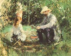 Paintress: Berthe Morisot [1841-1895]  Paris, Private Collection
