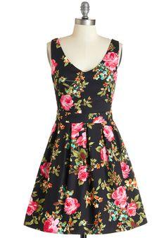 Bookmaking Brunch Dress in Black $54.99