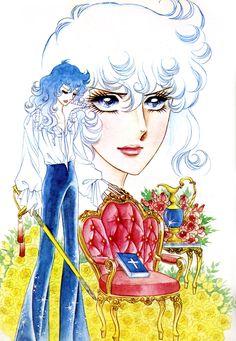 Lady Oscar by Riyoko Ikeda Real Anime, Old Anime, Manga Art, Anime Manga, History Of Manga, Lady Oscar, Anime Weapons, Manga Illustration, Japanese Artists