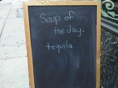 i know this little place that serves the best soup in town...