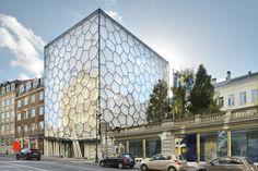 Stadtparlament in Brüssel / Libellenflügel mit Tiefgang - Architektur und Architekten - News / Meldungen / Nachrichten - BauNetz.de