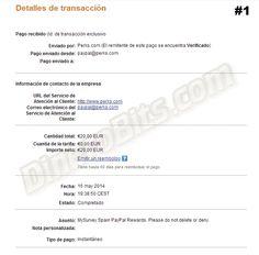 Primer pago recibido de MySurvey: http://dinerobits.com/mysurvey-paga/