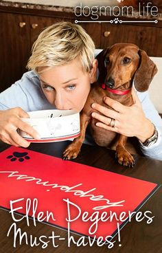 Must-Haves from the New ED Ellen Degeneres Dog Products! - DogMom Life - dog supplies, petsmart, apparel, clothes, harness, collar, bowl, carrier, puppy, designer Dog Moms Dog Mom