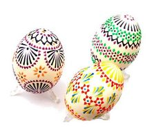 Sorbian painted eggs.