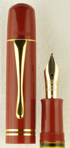 Pelikan M101N Tortoiseshell Red Special Edition Fountain Pen