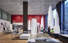 Chicago Architecture Boat Tour : The Chicago Architecture Center Opens in New Location (Arch Daily) Chicago Museums, Chicago Map, Chicago Hotels, Chicago River, Chicago Area, Chicago Restaurants, Bolingbrook Illinois, Chicago Architecture Foundation, Museum Plan