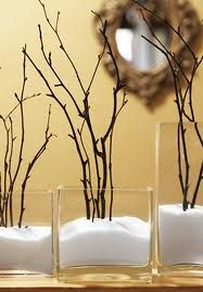 8 Strong Cool Tips: Ceramic Vases With Handles vases decor centerpieces.Decorative Vases With Paint vases decor centerpieces. Winter Christmas, Christmas Time, Simple Christmas, Rama Seca, Deco Nature, Do It Yourself Decoration, Ideias Diy, Winter House, Vases Decor