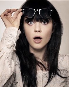 Zooey Deschanel.
