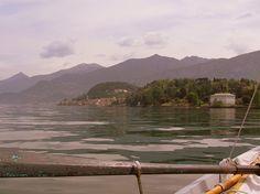Bellagio,  Villa Melzi d'Eril, view from the lake