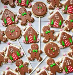 Christmas cookies by Laura's Custom Cookies https://m.facebook.com/laurascustomcookies/