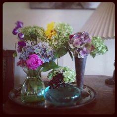 Blomsterverkstad: Lite i varje