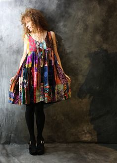 Patchwork dresses