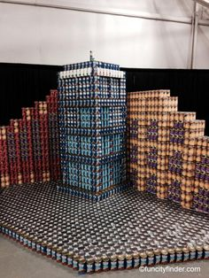 CANstruction competition at the Indiana State Fair