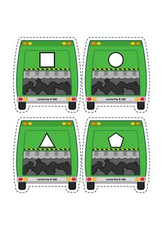 Garbage truck and garbage bags shape matching activity. Circle Time Activities, Preschool Activities, Community Helpers Activities, Printable Classroom Posters, Community Workers, Preschool Centers, Transportation Theme, Shape Matching, Garbage Truck