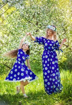 Mommy and Daughter Outfits for Easter