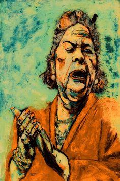 Original Celebrity Painting by Carmen Luna Original Paintings, Original Art, Oil On Canvas, Canvas Size, Gouache, Artwork Online, Saatchi Art, Portrait, Digital