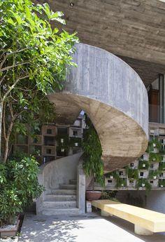 Binh Thanh House, Ho Chi Minh City, Vietnam, 2013 - Vo Trong Nghia Architects.