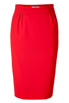 love red and pencil skirts