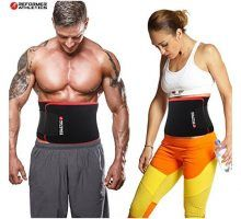 06eae01018 TNT Pro Series Waist Trimmer Weight Loss Ab Belt Premium Stomach Wrap and Waist  Trainer 10