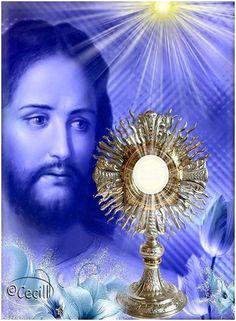 BENDITO Y ALABADO SEA JESÚS EN EL SANTÍSIMO SACRAMENTO DEL ALTAR. Señor que el torrente de gracia y virtudes que emana de tu corazón inunde mi alma para qu