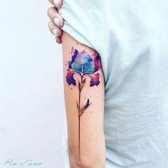 Artist: @pissaro_tattoo __________ #inkstinct_tattoo_app #watercolortattoo #watercolor #instatattoo #tattooer #tattoo #tattooartist #tattoos #tattoocollection #tattooed #tattoomagazine #supportgoodtattooing #tattooer #tattooartwork #tatuaje #tattrx #inkedmag #equilattera #tattooaddicts #tattoolove #topclasstattooing #tattooaddicts #tatted #superbtattoos #inked #amazingink #bodyart #tatuaggio #tattoooftheday