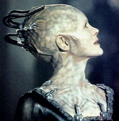 Borg Queen, Star Trek - she was perfect in this, my favorite Star Trek movie