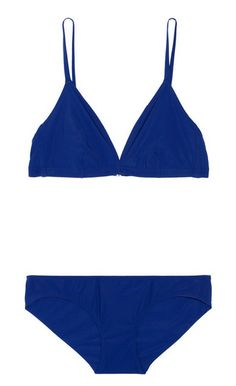 Stylist's Packing Tips: 10 Summer Vacation Essentials | Visual Therapy Orlebar Brown blue bikini