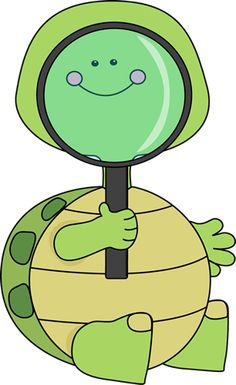 Turtle Looking Through Magnifying Glass Clip Art - Turtle Looking Through Magnifying Glass Image Baby Sea Turtles, Cute Turtles, Turtle Classroom, Turtle Day, Tortoise Turtle, Cute Good Morning, Turtle Pattern, African Cichlids, Reptiles And Amphibians