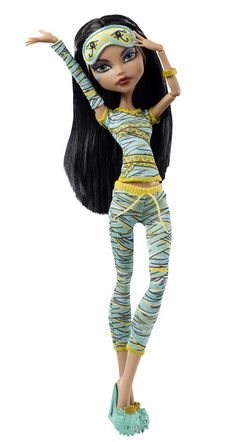 my fave version of her. Monster High Cleo de Nile Dead Tired