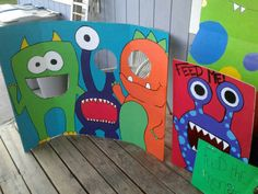 Photomaton Monster par SimplyCraftyByAmber sur Etsy